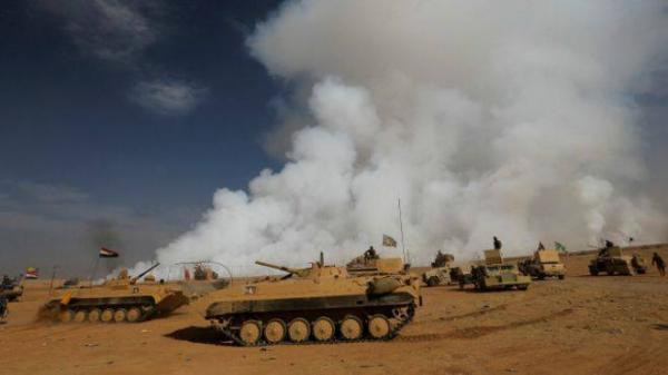 مقتل مدنيين اختناقا بغاز الكبريت بعد تفجير داعش مصنعا في الموصل