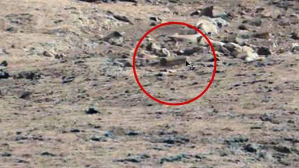صور غريبة لـ &#34نعش الموتى&#34 على سطح المريخ