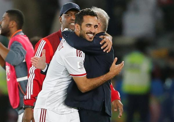 الإمارات تهزم الهند 2-صفر وتحقق فوزها الأول في كأس آسيا