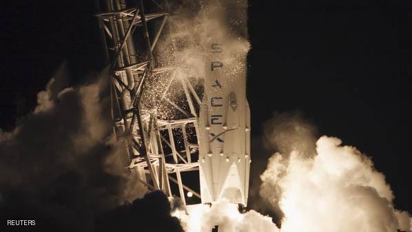 هبوط ناجح لكبسولة على محطة الفضاء
