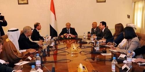 &#34سفراء العشر&#34: نتطلع لرؤية استفتاء وانتخابات في اليمن خلال أشهر