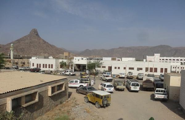 تدشين مشروع رصف مدخلي سوق ومستشفى بيحان بشبوة