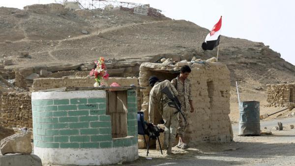 القوات الحكومية تستعيد مواقع مهمة في صرواح مأرب