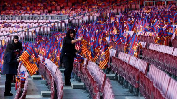 عملاقا إسبانيا يتواجهان في ذهاب نصف نهائي كأس الملك ضمن أول جولات كلاسيكو ثلاثي