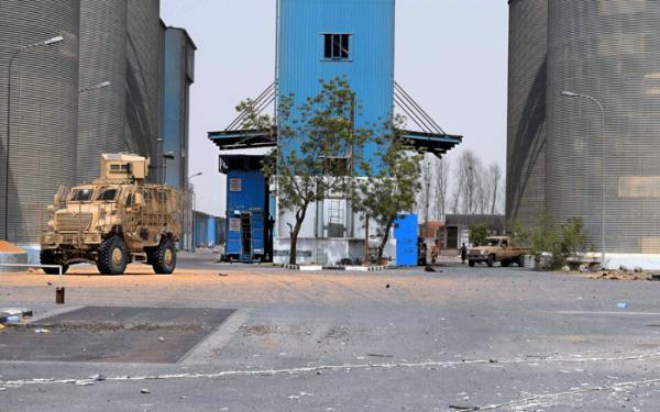 الامم المتحدة تعرب عن قلقها بشأن عدم مقدرتها الوصول الى مطاحن البحر الاحمر في الحديدة عقب منعها من قبل المليشيا