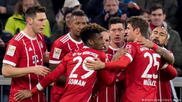 قبضة بايرن ميونخ القوية تضعف أندية الدوري الألماني!