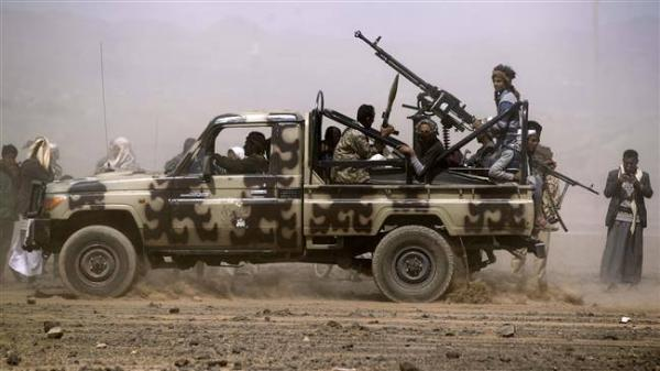 قبائل حشاء الضالع ينتفضون بوجه مليشيا الحوثي