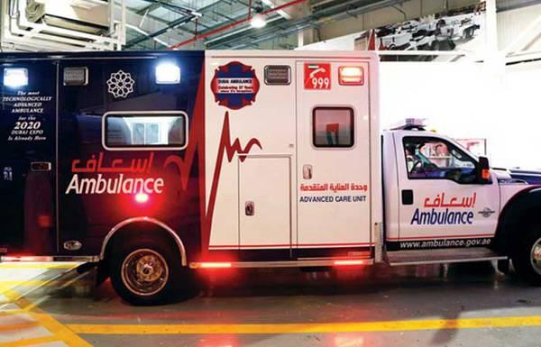 """""""إسعاف دبي"""" تحطم الرقم القياسي العالمي في الوصول للمرضى"""