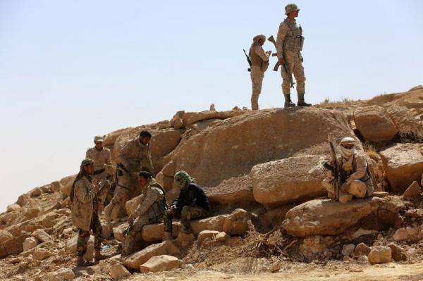القوات الحكومية تطهر مواقع من المليشيا الحوثية بالجوف