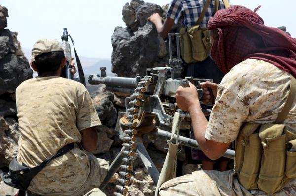 القوات الحكومية تؤمن مواقع شرق صنعاء