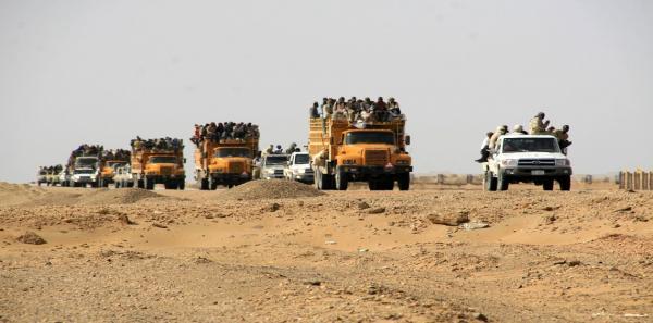 ارتفاع عدد ضحايا انقلاب شاحنة مهاجرين في ليبيا إلى 30 قتيلا