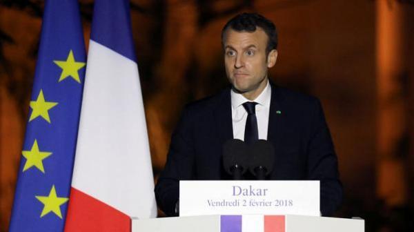 ماكرون : فرنسا ستوجه ضربات إذا ثبت استخدام أسلحة كيماوية في سوريا
