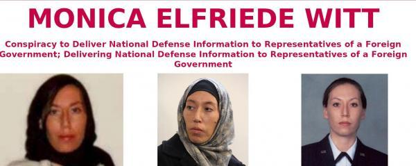 تعرف على الضابطة الأمريكية المتهمة بالتجسس لصالح إيران