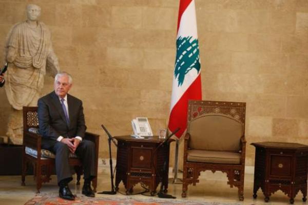 &#34خروج لبناني عن الأعراف الدبلوماسية&#34 في استقبال وزير الخارجية الأمريكي