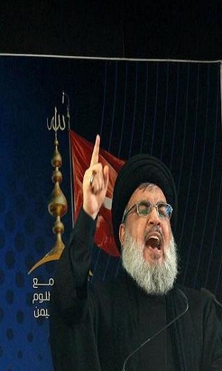 فيديو- حسن نصر الله يعترف بوجود مقاتلين من عناصر &#34حزب الله&#34 في اليمن