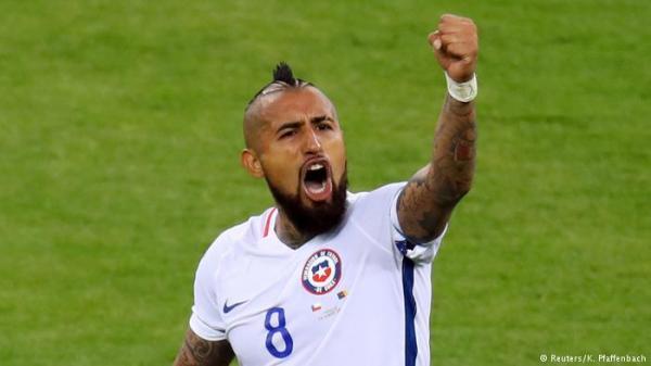 فيدال يرسل تحذيراً لزملائه الألمان قبيل نهائي كأس القارات!