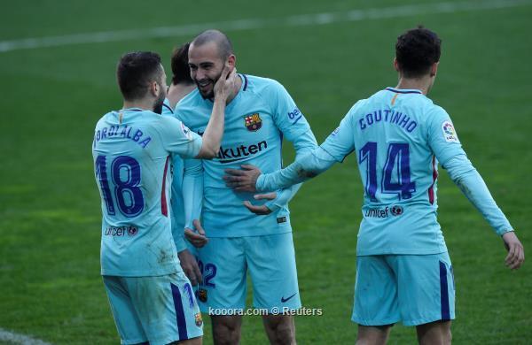 برشلونة يعود لطريق الانتصارات من بوابة إيبار