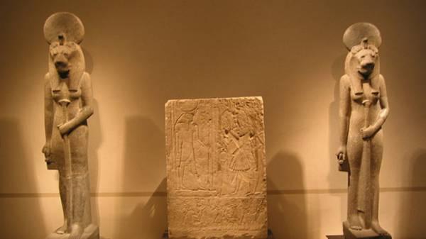 بعثة ألمانية تكتشف تمثالين لإله الانتقام لدى المصريين القدامى