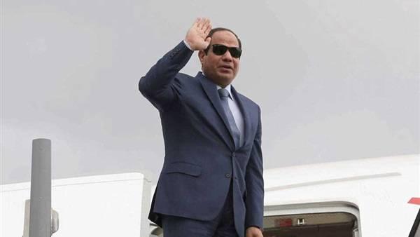 الرئيس المصري يغادر الرياض بعد لقاء الملك سلمان