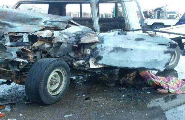 مقتل سائق طقم عسكري بحادث مروري في المعلا بعدن