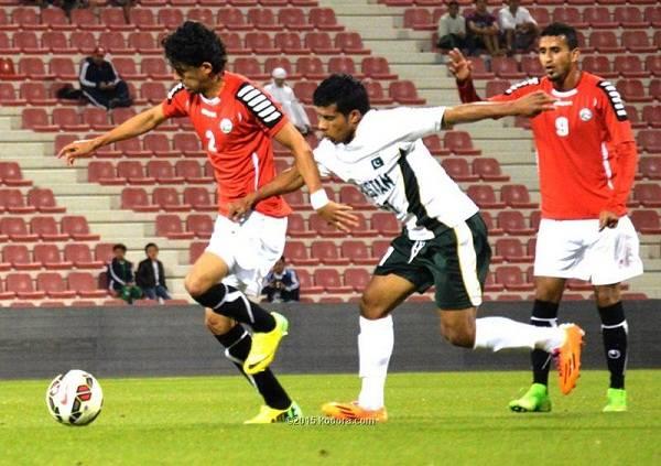 بسبب الظروف الأمنية.. المنتخب اليمني لكرة القدم يُمنع من التمرين بباكستان