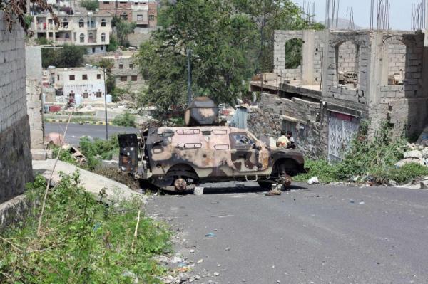 إحباط محاولة تسلل لمليشيا الحوثي في مقبنة بتعز