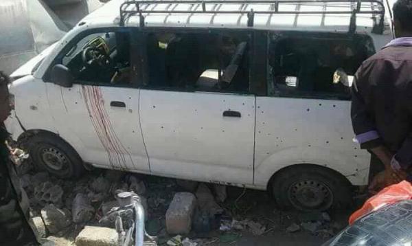 خمسة مواطنين بين قتلى وجرحى بانفجار عبوة ناسفة في الضالع