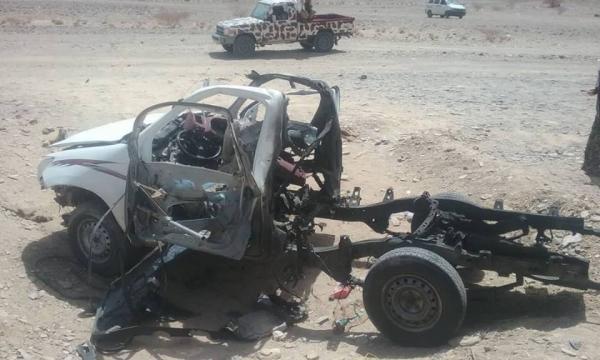 تضارب الأنباء حول انفجار سيارة في مرخة بشبوة