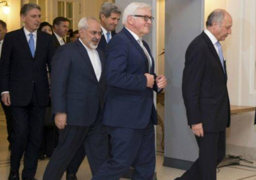 بيان مشترك حول المحادثات مع إيران بشأن برنامجها النووي