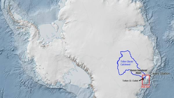 قنوات مياه دافئة بالقارة القطبية الجنوبية يمكن أن تتسبب في ذوبان هائل