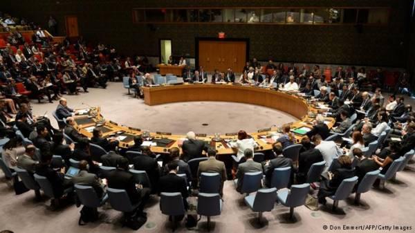 أنباء عن مشروع قرار أمريكي حول الشرق الأوسط