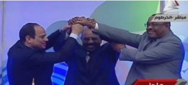 مصر والسودان واثيوبيا توقع اتفاقاً حول سد النهضة بالخرطوم