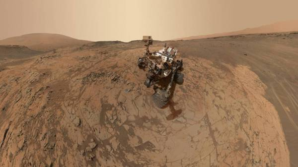 علامات حديثة تدعم فرضية وجود حياة في السابق على كوكب المريخ