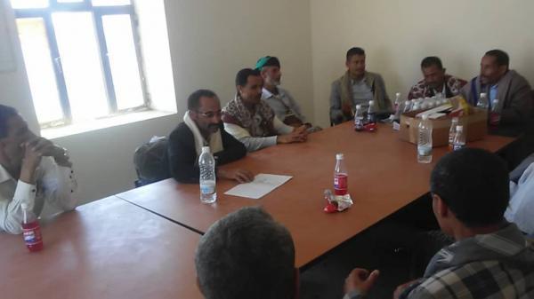 الضالع: السلطة المحلية بالحشاء تؤكد استمرار مواجهة مليشيا الحوثي حتى استكمال التحرير