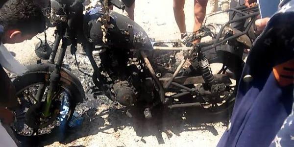 صور- شهيدان جراء انفجار عبوة في إب