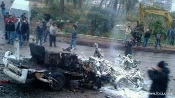 قتيل وجريحان في انفجار بمنطقة الشويفات جنوبي بيروت