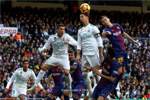 ريال مدريد وبرشلونة قد يتواجهان 3 مرات خلال 13 يومًا