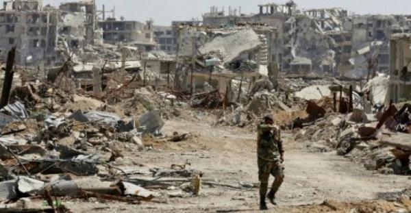 مقتل 27 مدنيا على الأقل في غارات جوية للنظام السوري على دوما