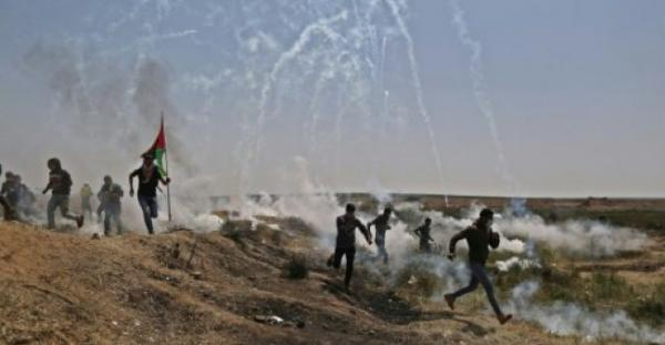 فرنسا تدين &#34إطلاق النار العشوائي&#34 للجيش الإسرائيلي على حدود قطاع غزة