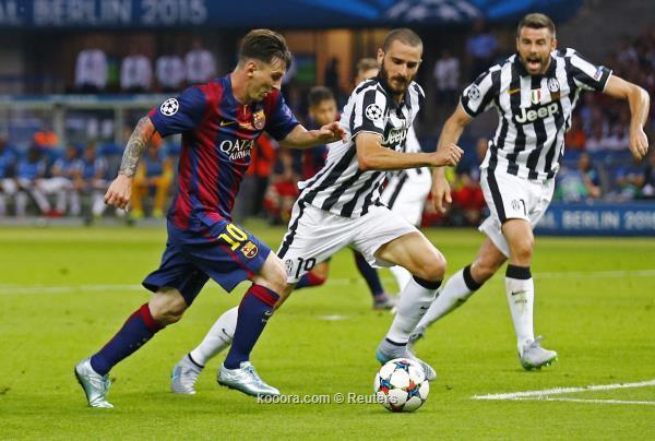 يوفنتوس ينتظر برشلونة في ملعب الرعب والصمود