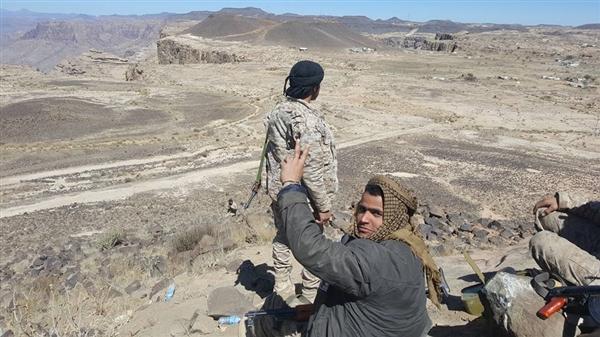 القوات الحكومية تسيطر على مواقع بالقرب من مركز مديرية الظاهر بصعدة