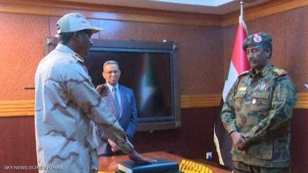 المجلس العسكري السوداني يوجه رسالة إلى المجتمع الدولي