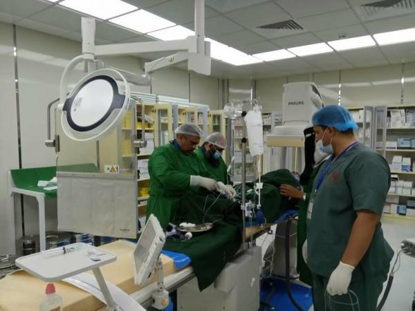 &#34بلسم 2&#34 تقيم حملة خيرية لجراحة وقسطرة قلب الاطفال والكبار بالمكلا