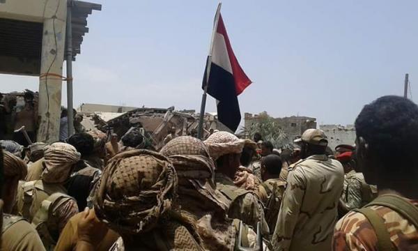 بدء عملية عسكرية بإسناد جوي لتحرير ما تبقى من مديرية &#34حرض&#34
