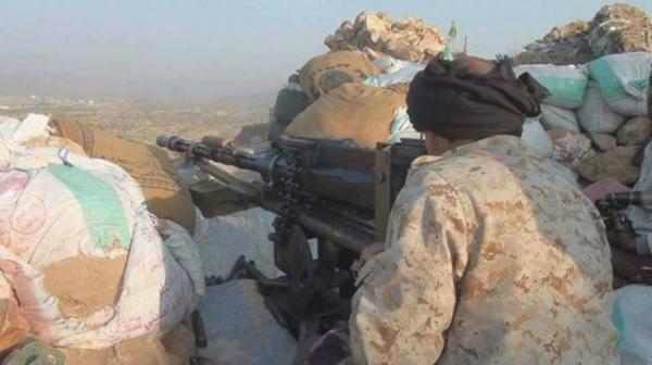 السيطرة على جبل &#34الكربة&#34 في طور الباحة بلحج عقب هجوم مباغت على مواقع الحوثيين
