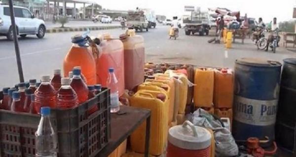 ارتفاع أسعار البنزين في عدن واشتعال السوق السوداء في صنعاء