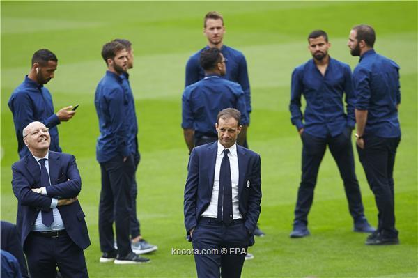 إعلان التشكيلة الرسمية لمواجهة برشلونة ويوفنتوس