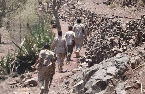 مقتل عناصر حوثية في مواجهات بجبهتي الشقب والأقروض بتعز