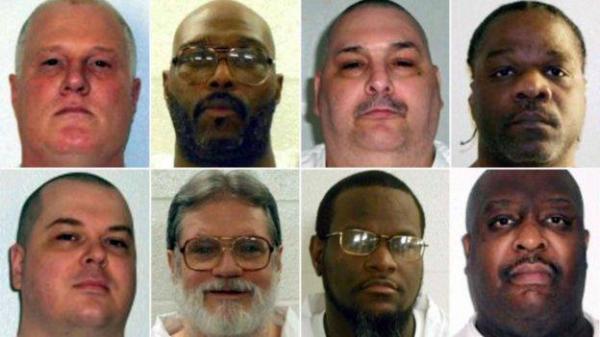 قاضيان أمريكيان يوقفان تنفيذ إعدام ثمانية سجناء في ولاية أركنسو