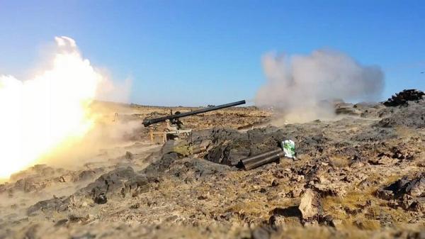 القوات الحكومية تحرر عقبة &#34تواثنة&#34 في برط العنان بالجوف وتواصل تقدمها باتجاه عمق &#34الظهرة&#34